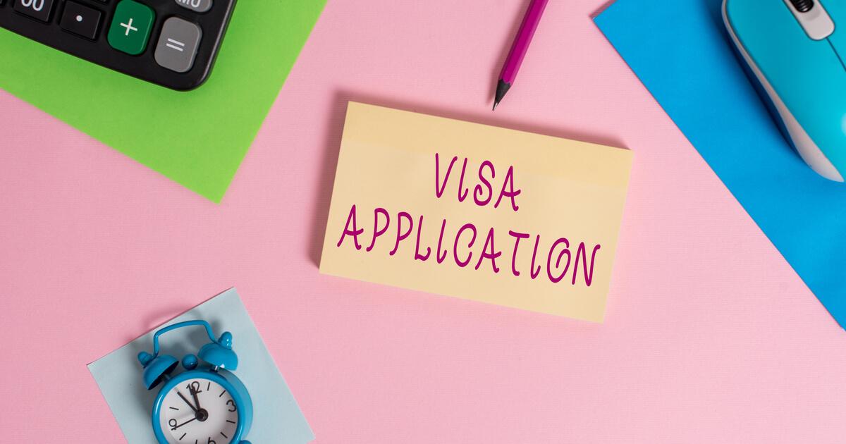 ビザ申請のイメージ画像