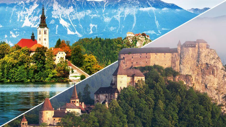 スロバキアの観光名所聖マルティン大聖堂とスピシュ城