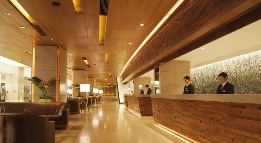 マルコポーロ香港ホテル(Marco Polo Hongkong Hotel)のフロント