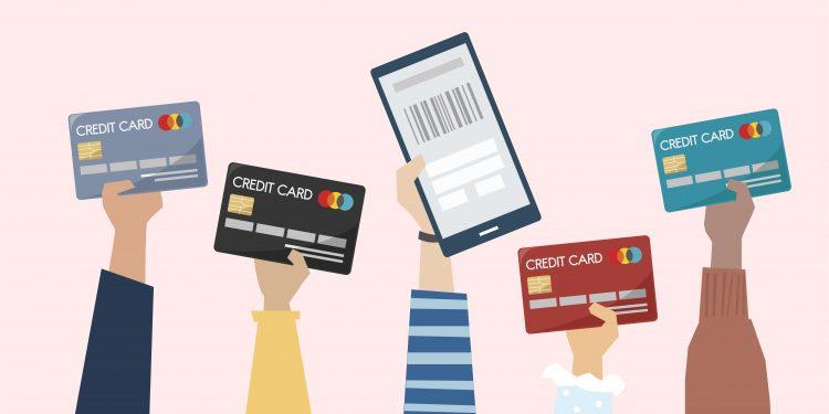 クレジットカードのイラストイメージ