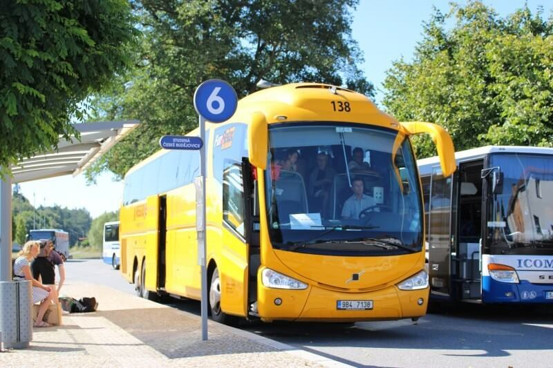 チェコの長距離バス