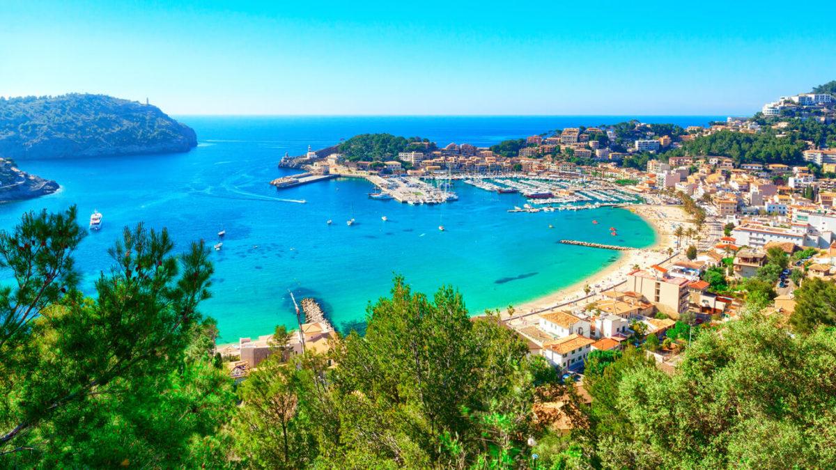 スペインとポルトガルにあるイベリア半島の景色