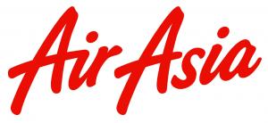 マレーシアの格安航空会社LCC「エアアジア」のロゴ画像