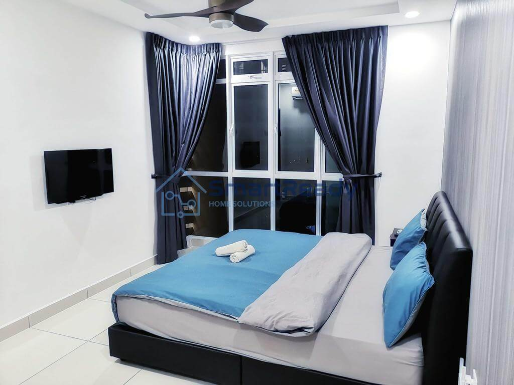ジョホールバルのコンドミニアム「Residences at Daya by SR Home」の部屋
