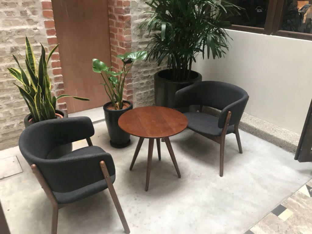 Beryl's Lot18のカフェスペース