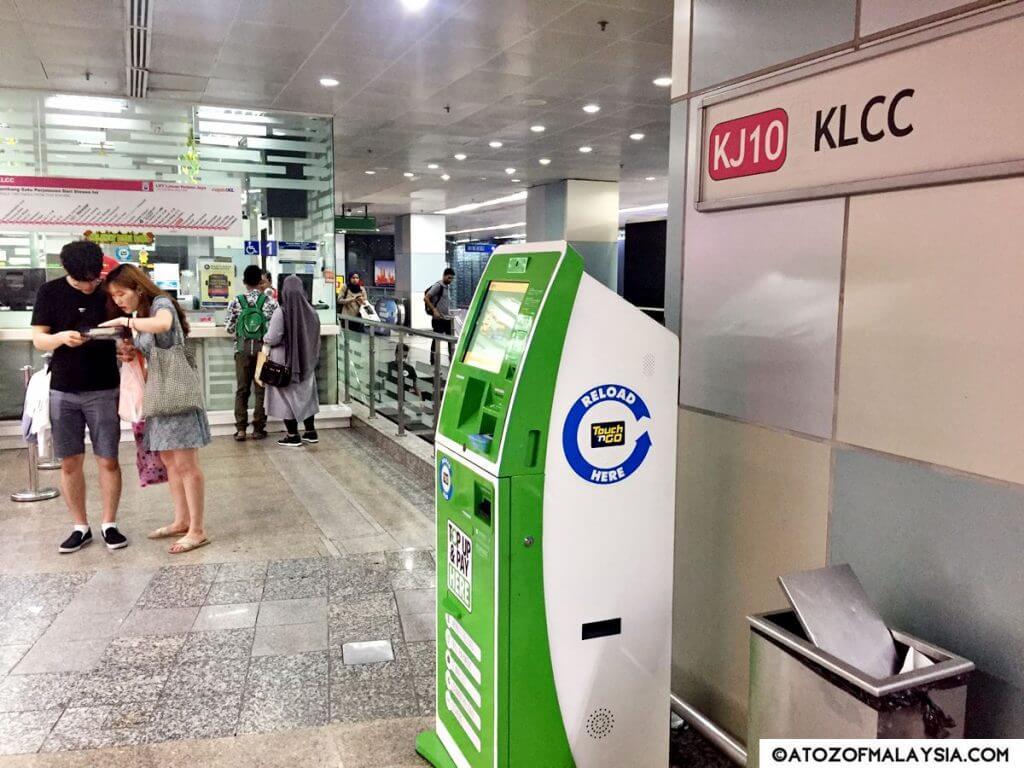KLCC駅の内装